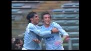 Goal del raddoppio di Mauri contro l'Udinese all'Olimpico