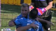 Goal dell'ex per Quagliarella che porta in vantaggio il Torino contro l'Udinese