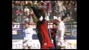 Goal d'esterno destro, Zola colpisce la Roma con l'1-0