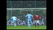 Goal di Domizzi su rigore, il Napoli raggiunge il Milan a San Siro