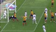 Goal di Fabiano: il Lecce non si arrende contro il Cagliari