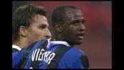Goal di Ibrahimovic e l'Inter si porta sul 3-1 contro il Livorno