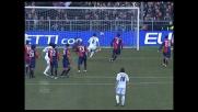 Goal di Mutu su punizione: la Fiorentina accorcia le distanze con il Genoa