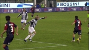 Goal di piattone di Acquafresca, il Cagliari risponde alla Juventus