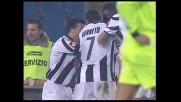 Goal di Pinzi, Udinese in vantaggio sul Cagliari
