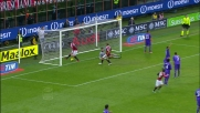 Goal di rapina per Pazzini che accorcia le distanze contro la Fiorentina