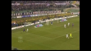 Goal di Santana su assist di Mutu in Fiorentina-Cagliari