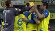 Goal di Sardo in Chievo-Frosinone: Leali beffato in pallonetto