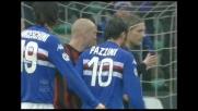 Goal di testa di Cassano per il vantaggio della Sampdoria sul Milan