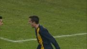 Goal di testa di Gomez in Verona-Atalanta