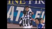Goal di testa di Quagliarella, l'Udinese si porta sul 2-2 con la Sampdoria