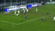 Goal di testa di Stendardo a Bergamo contro il Cagliari