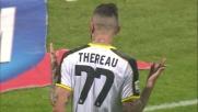 Goal di Thereau per il pareggio in Sassuolo-Udinese