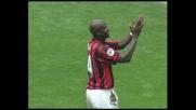 Goal di Weah, il Milan sblocca il match con l'Atalanta