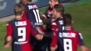 Goal fantastico di Donsah e il Cagliari raddoppia col Cesena