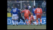 Goal fortunoso di Gustavo per l' 1-1 in Sampdoria-Treviso