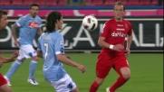 Goal in pallonetto: Cavani raddoppia per il Napoli contro il Cagliari