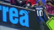 Goal in tap-in per Sneijder contro il Pescara