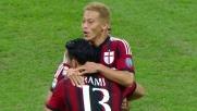 Goal su punizione di Honda in Milan-Chievo