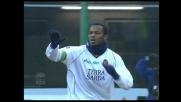 Goal su punizione di Suazo, il Cagliari riapre la gara con l'Inter