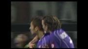Goal su rigore di Mutu: la Fiorentina acciuffa il Milan sul'1-1