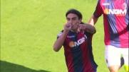 Goal vittoria di Christodoulopoulos contro il Cagliari al Dall'Ara