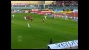 Goal vittoria di Ibrahimovic con l'aiuto della barriera a Livorno