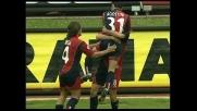 Gobbi realizza il goal del pari per il Cagliari contro il Chievo