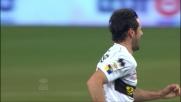 Gobbi trova l'angolo e segna il goal del vantaggio contro il Genoa