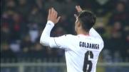 Goldaniga, colpo di testa vincente: il Palermo torna in partita
