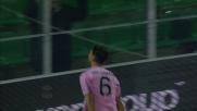 Goldaniga porta in vantaggio il Palermo sul Frosinone