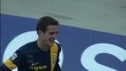 Gomez completa la rimonta e di testa sigla il goal del 2-2 tra Verona e Juventus