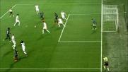 Gomez costringe Marchetti ad una parata d'istinto in Atalanta-Lazio