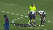Gomez mette KO Zapata con una pallonata in faccia