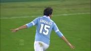 Gonzalez apre le marcature contro l'Udinese all' Olimpico di Roma