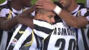 Gran destro di Inler e goal del vantaggio dell'Udinese al San Paolo