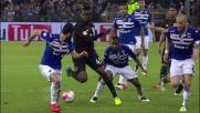 Gran giocata di suola per Balotelli in Sampdoria-Milan