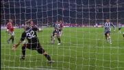 Gran goal al volo di Matri contro il Milan