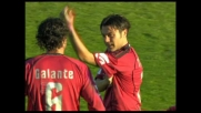 Gran goal al volo di Tavano al Picchi contro la Sampdoria