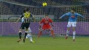 Gran tiro dalla distanza di Bruno Fernandes: è goal a Napoli