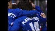 Grande azione della Sampdoria, Mancini fa goal dopo un grande scambio