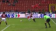 Grande giocata di Rivas contro il Milan che si salva grazie a Kaladze
