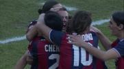 Grandissimo goal di Pasquato da fuori area contro il Cagliari