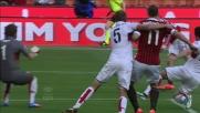 Granqvist anticipa Ibrahimovic e salva sulla linea la porta del Genoa