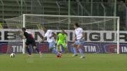 Grqande azione personale di Thiago Ribeiro contro la Lazio