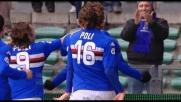 Guberti di potenza realizza il goal del pareggio tra Sampdoria e Lazio
