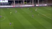 Guilherme a porta vuota non centra il bersaglio contro la Fiorentina