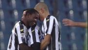 Di Natale firma la tripletta contro il Napoli con un goal da calcio d'angolo