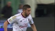Taarabt segna il goal del vantaggio del Milan al Marassi