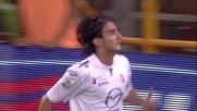 Aquilani l'appoggia in goal di testa contro il Genoa